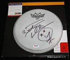 Bootsy Collins signed drumhead, Parliament Funkadelic, Ruberband, Funk, PSA/DNA