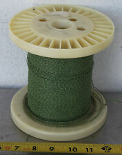 GUDEBROD BUTTWIND CUSTOM FISHING ROD WINDING WRAP GREEN & WHITE ENTIRE SPOOL #5