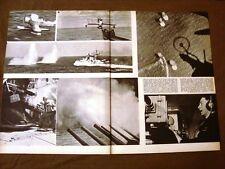 Stampa del 1942 Seconda guerra mondiale WW2 Battaglia Golfo della Sirte Libia