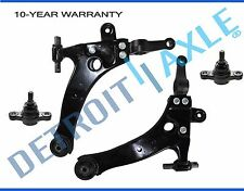 Brand New 4pc Set: Lower Control Arms and Lower Ball Joints for Hyundai Sonata