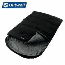 Outwell Campion Lux Double Sleeping Bag - Black Camping Festivals 230095