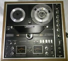 Sony TC-730 Auto Reverse Reel to Reel Tape Recorder Internal Amp & Speakers