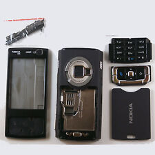 FULL KEYPAD HOUSING FASCIA COVER FOR NOKIA N95 BLACK