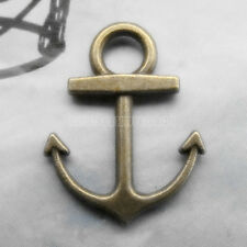 50pc Charms Boat Anchor Pendant Accessories Jewelry Making Small Pendants 150H