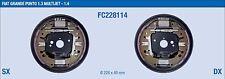 FC228114 KIT GANASCE FRENO COMPLETO FIAT GRANDE PUNTO 1.3 MULTIJET 1.4 BENZ