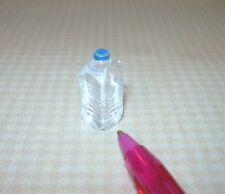 "Miniature Clear Plastic ""HALF-GALLON"" Water Jug: DOLLHOUSE Miniatures 1/12 Scale"