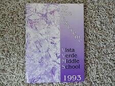 1993 Vista Verde Middle School Yearbook