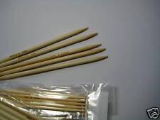 "55 needles!!! 5"" Double pointed Bamboo Knitting Needles"