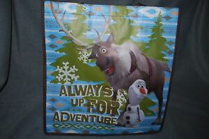Disney Frozen Olaf Sven Snowman Shopper Bag Halloween Trick -or -Treat Free Ship
