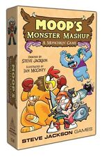 Moop's Monster Mashup Munchkin Card Game Steve Jackson SJG 1538 Ian McGinty
