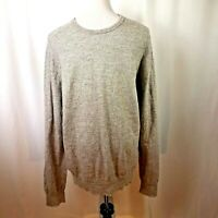 J Crew Men's Extra Large Long Sleeve Sweater Variegated Gray Tones