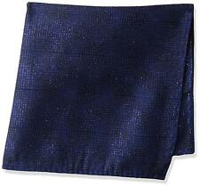 Dwyane Wade for The Tie Bar Men's Blue Christmas Pocket Squares, Royal Blue, OS