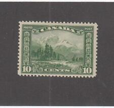 CANADA (MK6962) # 155 VF-MLH 10cts 1928 MOUNT HURD, BC. /GREEN CAT VALUE $30