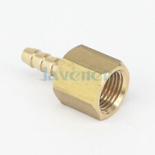 "1/8"" NPT Female x 1/8"" Hose Barb Tail Brass Fuel Fitting Connector 229 PSI"