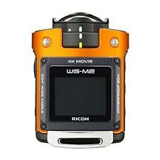 Ricoh Wasserdicht Action Kamera WG-M2 Orange 4K Video Weitwinkel 03801 F/S