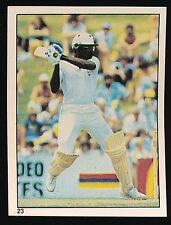 1982 Scanlens Cricket Sticker unused number 23 Clive Lloyd