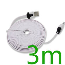 3m USB Sync Charger Cable Cord For iPhone 4 4S