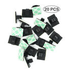 20 PCS Adhesive Cable/Wire Clips Clamp Cable Organizer for Desk Car Home Office
