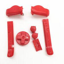 Nintendo Game Boy Advance GBA BUTTONS SET Bumper Shoulder R L A B D-Pad RED NEW