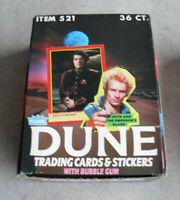 RARE 1984 Fleer Dune Cards Full Box 36 Pks LOOK