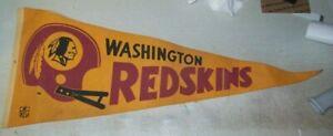 WASHINGTON REDSKINS OLD PENNANT L@@K!!!!!!