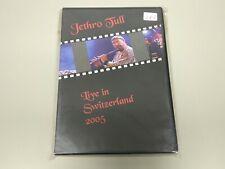 JJ9- JETHRO TULL LIVE IN SWITZERLAND  DVD NUEVO RE/PRECINTADO RARO !!!