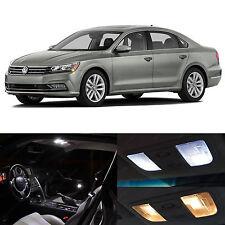 15x White Interior LED Lights Package Kit for 2012-2014 Volkswagen Passat B7 VW