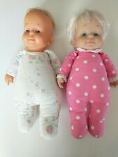 """vintage drowsy doll 15"""" talking lot of 2 doll"""