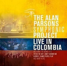 The Alan Parsons Symphonic Project-Live in Colombia 2 CD NUOVO
