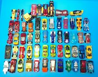 Huge Lot Hot Wheels Matchbox Toy Cars Trucks | 59 Pieces | Some Rare