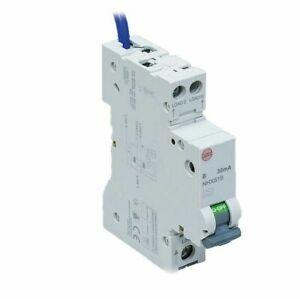 Wylex Compact RCBO 40a B40 Type A 30mA Mini RCBO NHXS1B40 NHX