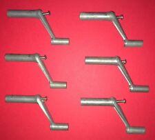 """Mobile Home/ RV Metal Window Crank Handle 1-3/4""""  w/screws (6 pack)"""