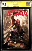 DCEASED #2 CGC SS 9.8 INHYUK LEE VARIANT ZOMBIE JOKER RED HOOD BATMAN DC COMICS