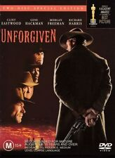 UNFORGIVEN (Clint EASTWOOD Morgan FREEMAN) Western Film (2 DVD SET) Region 4