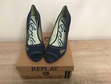 Replay in blau/Jeans in 40 neu- Peeptoes- Summertime