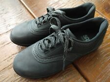 SAS shoes black nubuck LN 8N