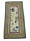 Antique Chinese Silk Woven Embroidered Tapestry Sleeve 19th Century Mandarin COA
