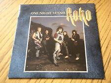 "ROKO - ONE NIGHT STAND  7"" VINYL PS"