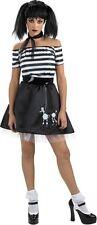 Disguise D/ceptions Boodle Bones Costume Adult Size 12-14 Poodle Skirt 50's