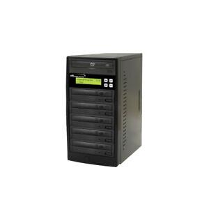 5 Target 24X DVD CD Duplicator Tower Burner Multiple Disc Add Copy Protection