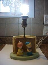 Vintage Dolly Toy Comp. Kids Praying Lamp Works