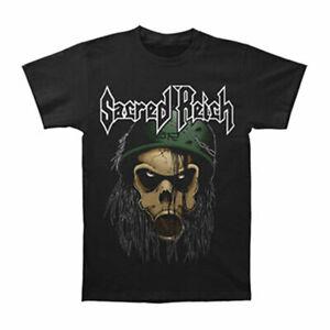 Sacred Reich Men's  Gas Mask T-shirt Black
