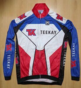 SANTINI  cycling jersey  SIZE M TEEKAY