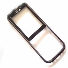 100% Genuine Nokia C5-00 front fascia housing+screen lens Gun Metal , Grade B