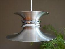 Bent Nordsted pendant lamp aluminium shade orange 1960s vintage Danish Design