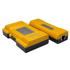 Ethernet/Network/Patch LAN CABLE TESTER Lead & Checker Cat5 Cat5e Cat6 RJ45 RJ11