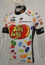 Retro Cycling Jersey Jelly Belly Bike Road Pro Clothing MTB Racing Short Sleeve