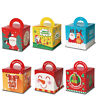 Childrens Kids Christmas Table Present Gift Box Xmas Party Food Boxes Candy UK