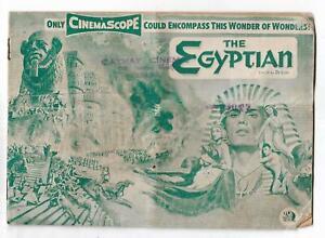 The Egyptian's CinemaScope Edmund Purdom Cathay Cinema Penang Singapore Booklet
