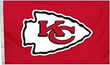 Kansas City Chiefs Huge 3'x5' NFL Licensed All Pro Flag / Banner - Free Shipping